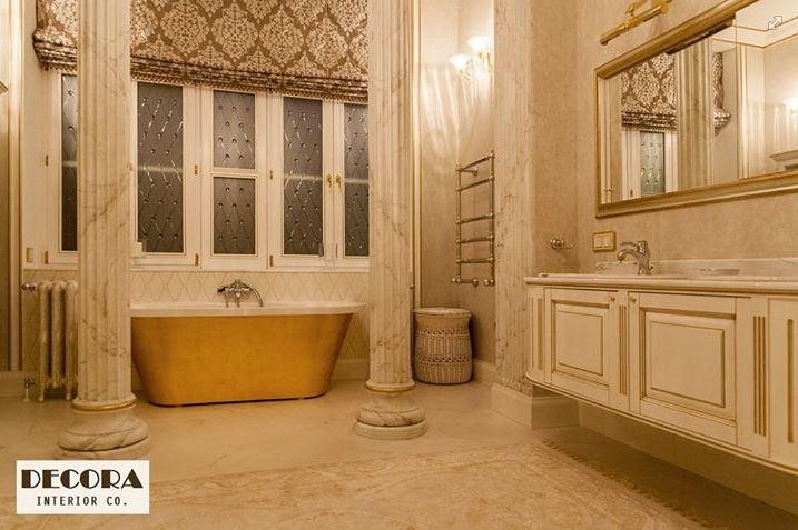 Vanna Accent 3, vannas dizains zelta izpildījumā