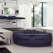 Stone cast bathtub Famosa