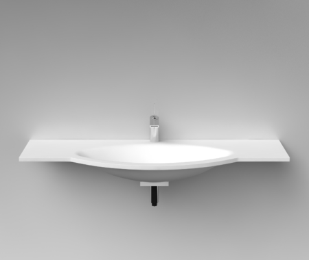 Cast Stone Washbasin L1300
