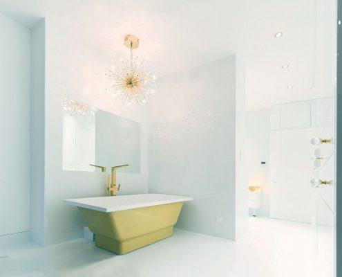 vannas istabas dizains, santehnika, Vanna Nordica 170