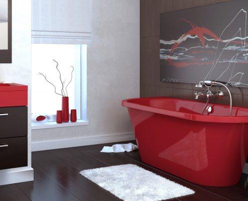 Vannas istabas dizains, santehnikas veikali, vanna Onda, vanna Evento 2