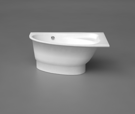 Vannas : Akmens masas vanna, Ванна Trevi M из каменной массы, Stone cast bathtub