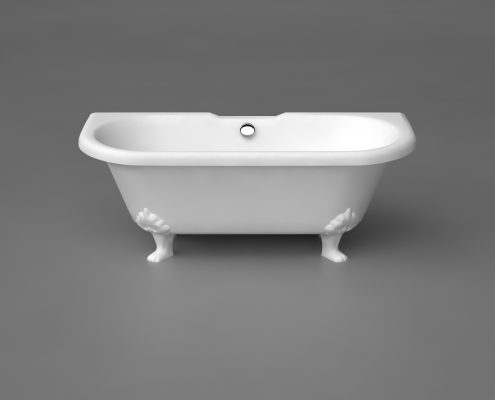 Akmens masas vanna Astoria, Stone cast bath Astoria