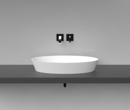 Cast Stone Washbasin D2