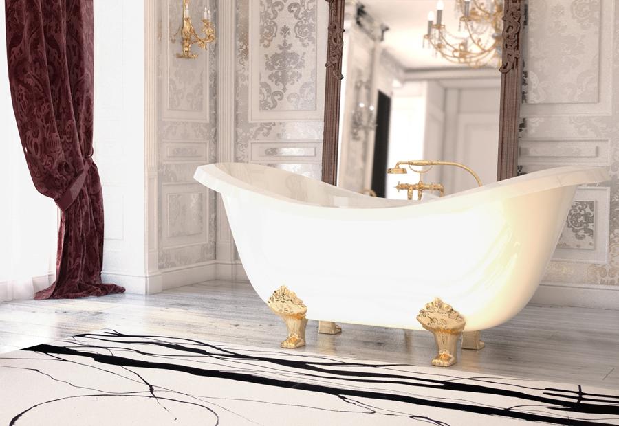 Ванны, умывальники и душевые поддоны: Vanna Impero