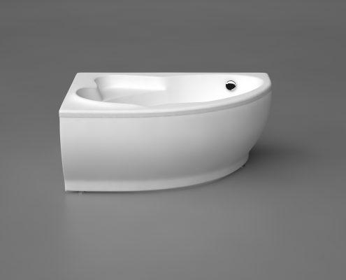 Akmens masas VANNA LAGO, Ванна из каменной массы, Stone cast bathtub