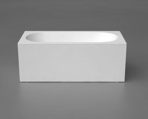 Akmens masas vanna Libero 170, Ванна из каменной массы, Stone cast bathtub