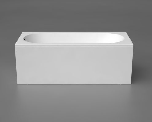 akmens masas vanna Libero 180, Ванна из каменной массы, Stone cast bathtub