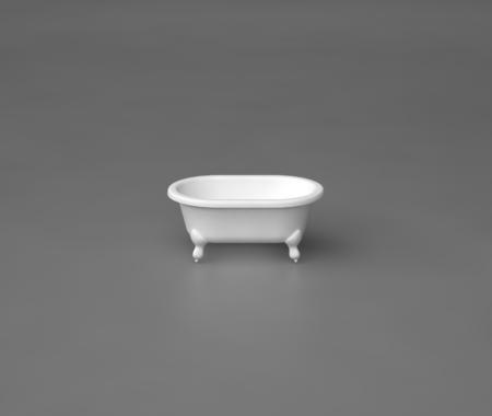 Akmens masas BĒRNU vanna LILU, Ванна из каменной массы, Stone cast bathtub