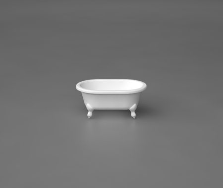 Akmens masas vanna LILU, Ванна из каменной массы, Stone cast bathtub