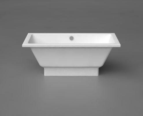 Bathtubs: Stone cast bathtub Nordica 160