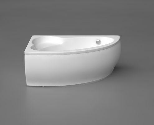 Vannas : Akmens masas vanna, ВАННА PICCOLA из каменной массы, Stone cast bathtub