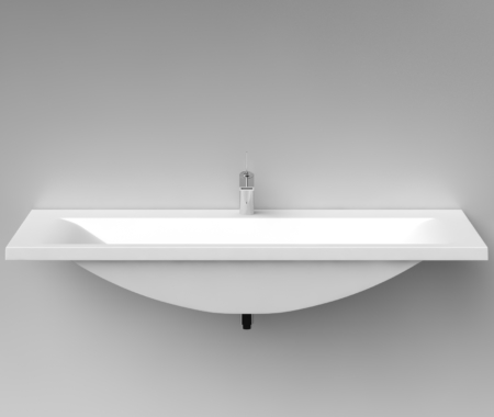 Cast Stone Washbasin Q1400