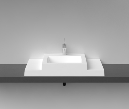 Cast Stone Washbasin Q 900