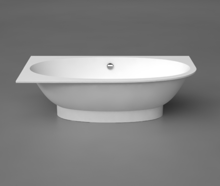 Akmens masas Vanna Gemma 3 Right, Ванна из каменной массы, Stone cast bathtub