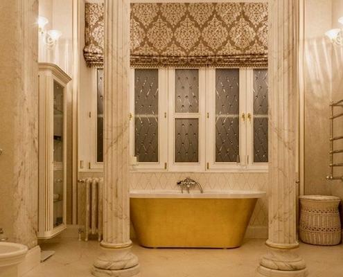 Vannas istabas dizains - vanna Onda, akmens masas vanna Evento 2
